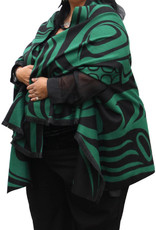Reversible Cape- Spirit Wolf by Paul Windsor