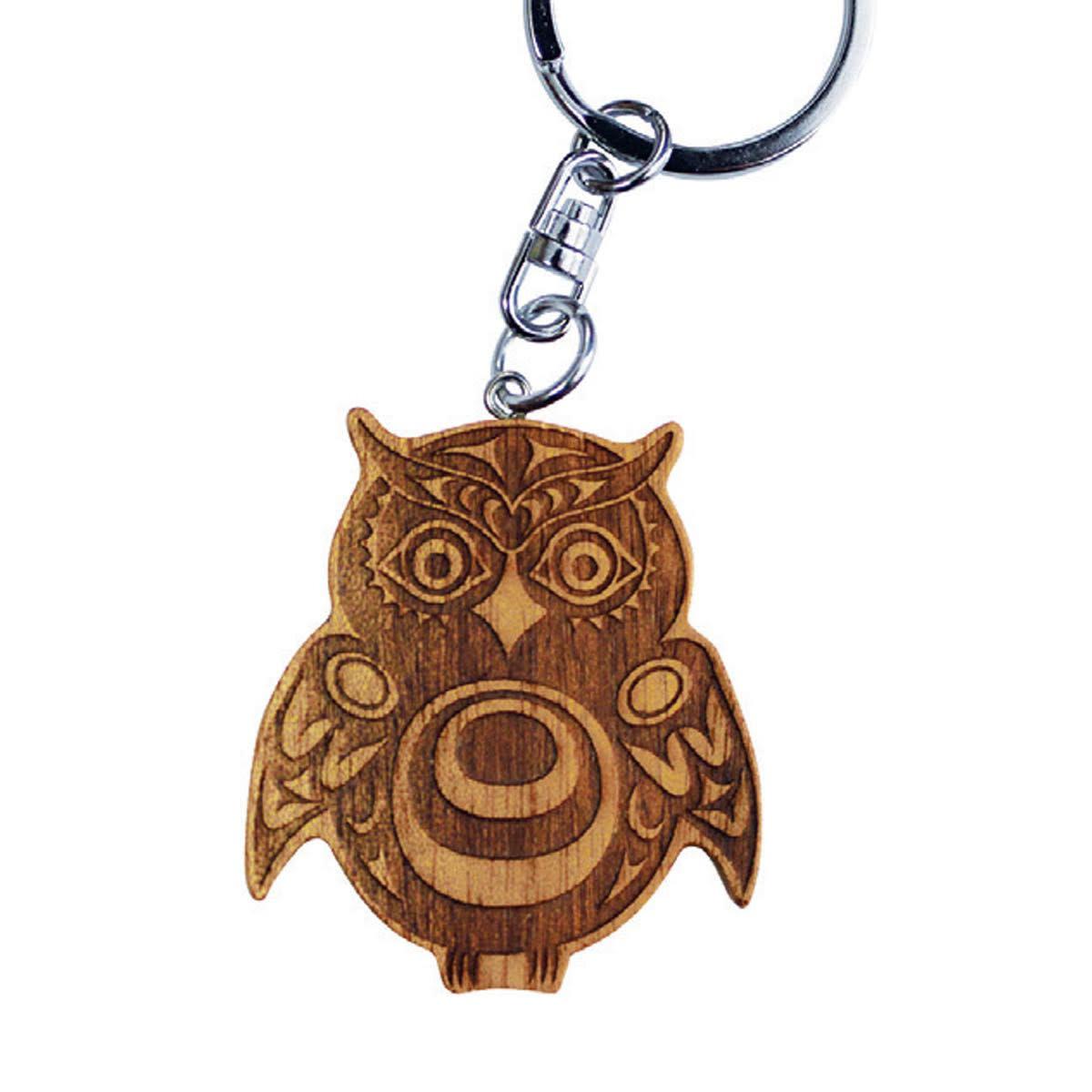 Wooden Key Chain-4