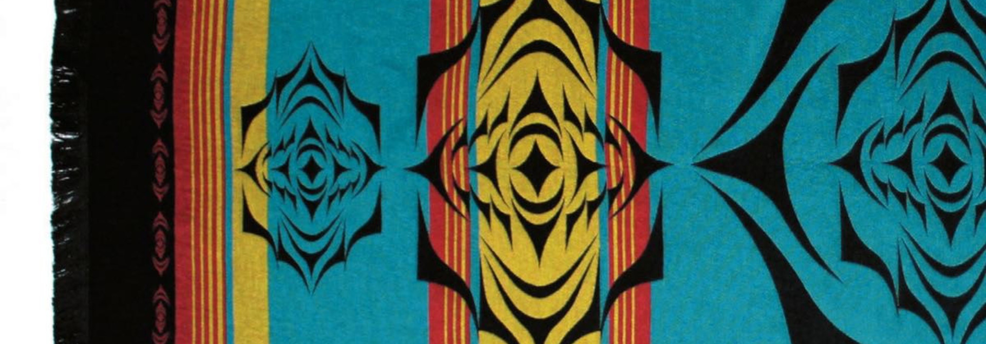 Northwest Tapestry- Salish Sunset by Simone Diamond