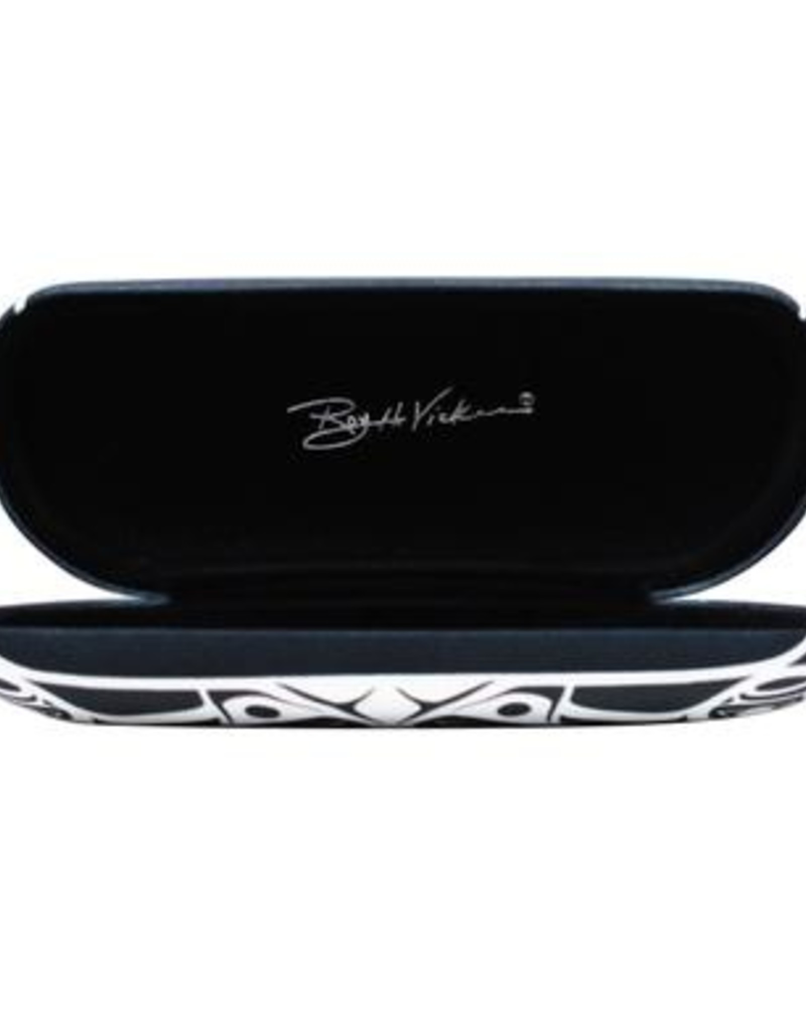 Hard Shell Eyeglasses Case-Raven by Roy Henry Vickers