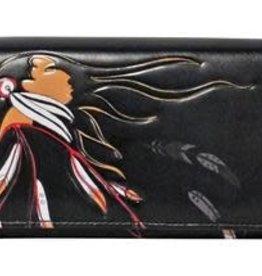 Wallet- Eagle's Gift by Maxine Noel
