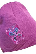 Embroidered Knitted Hat - Celebration of Life by Francis Dick