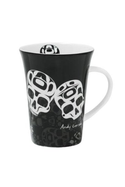 Porcelain Mug -The Story is in the Soil by Andy Everson