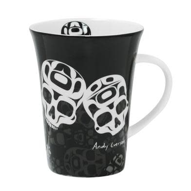 Porcelain Mug -The Story is in the Soil by Andy Everson-1