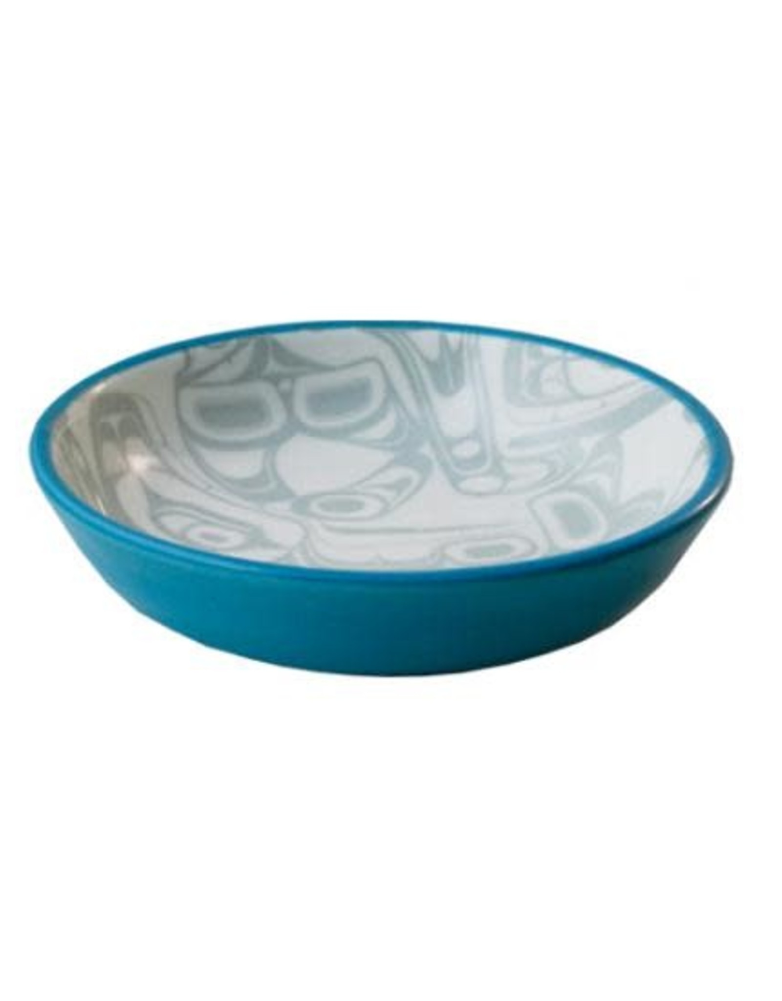 KR Orca Small Dish Turquoise/Grey Kelly Robinson