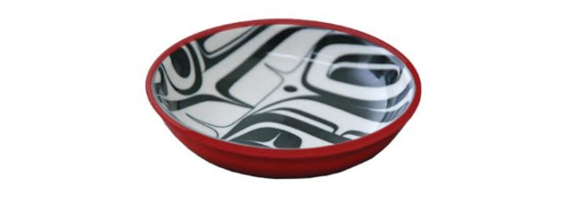 KR Raven Small Dish Red/Black Kelly Robinson