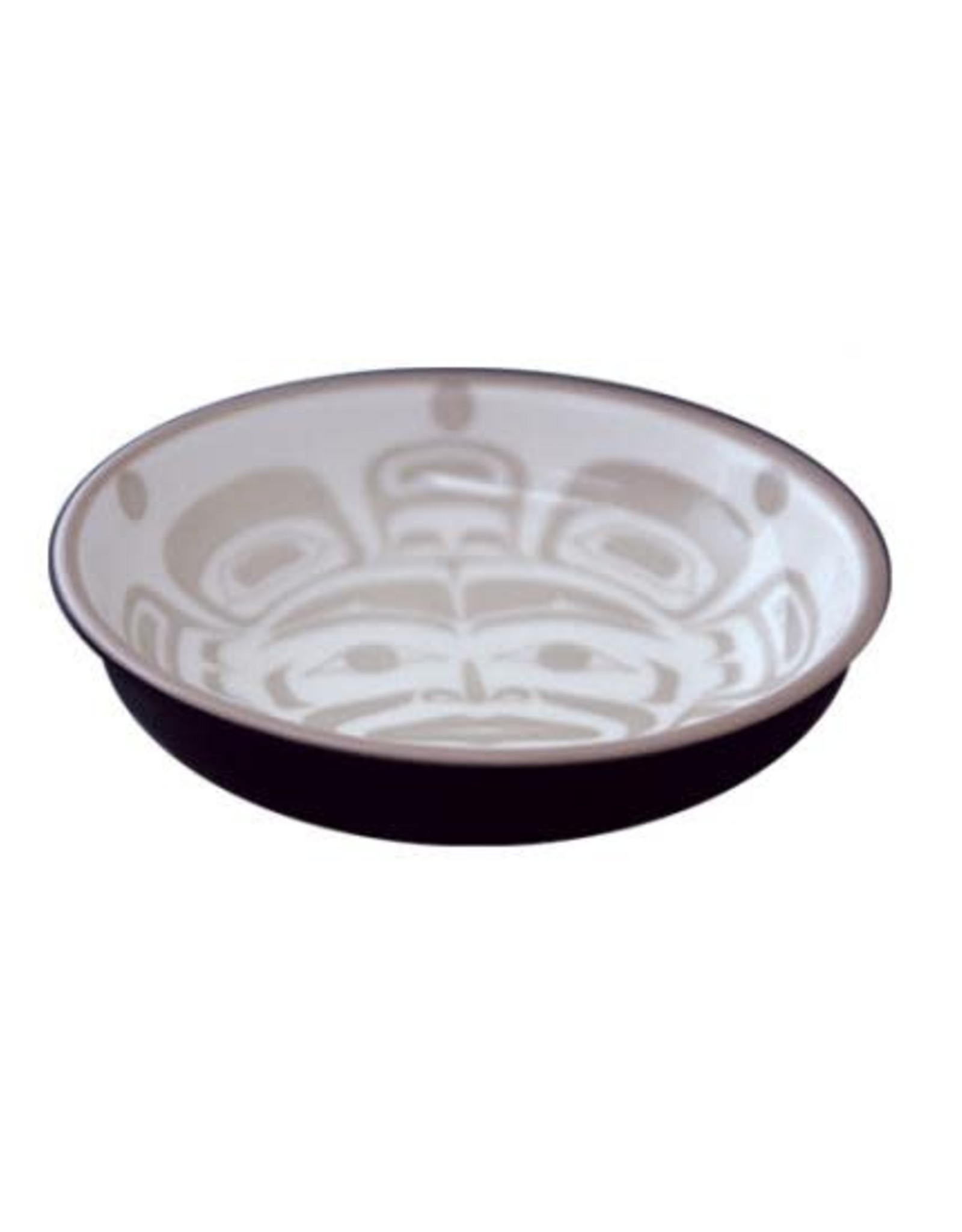 KB Moon Mask Small Dish Black/Taupe Klatle-Bhi