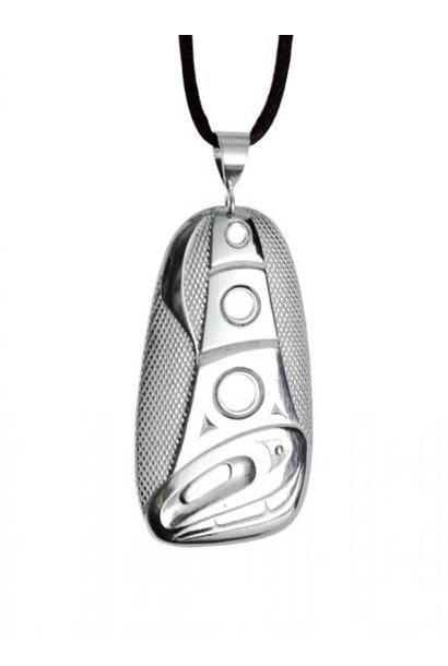 Silver Pewter Orca Pendant Corrine Hunt
