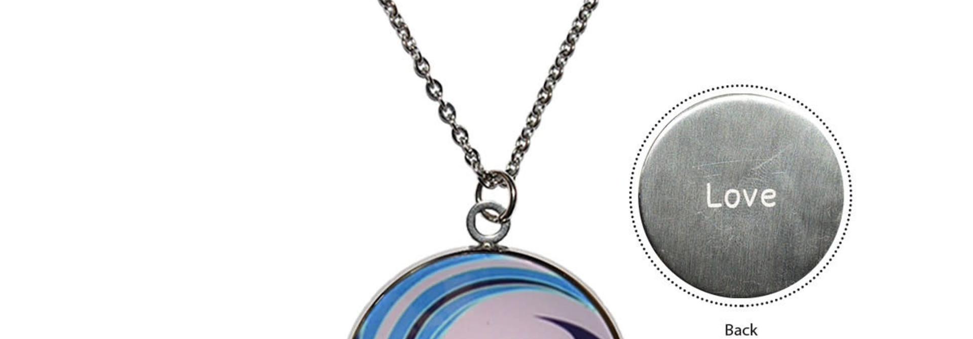 Circle Charm Necklace-Matriarchal Power-Simone Diamond