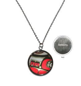 Sgaan (Whale) Charm Necklace by kwiaahwah Jones