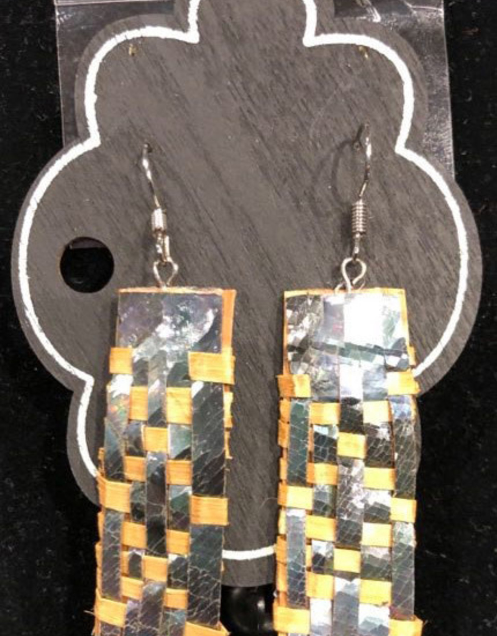 Traditional woven Cedar Earrings
