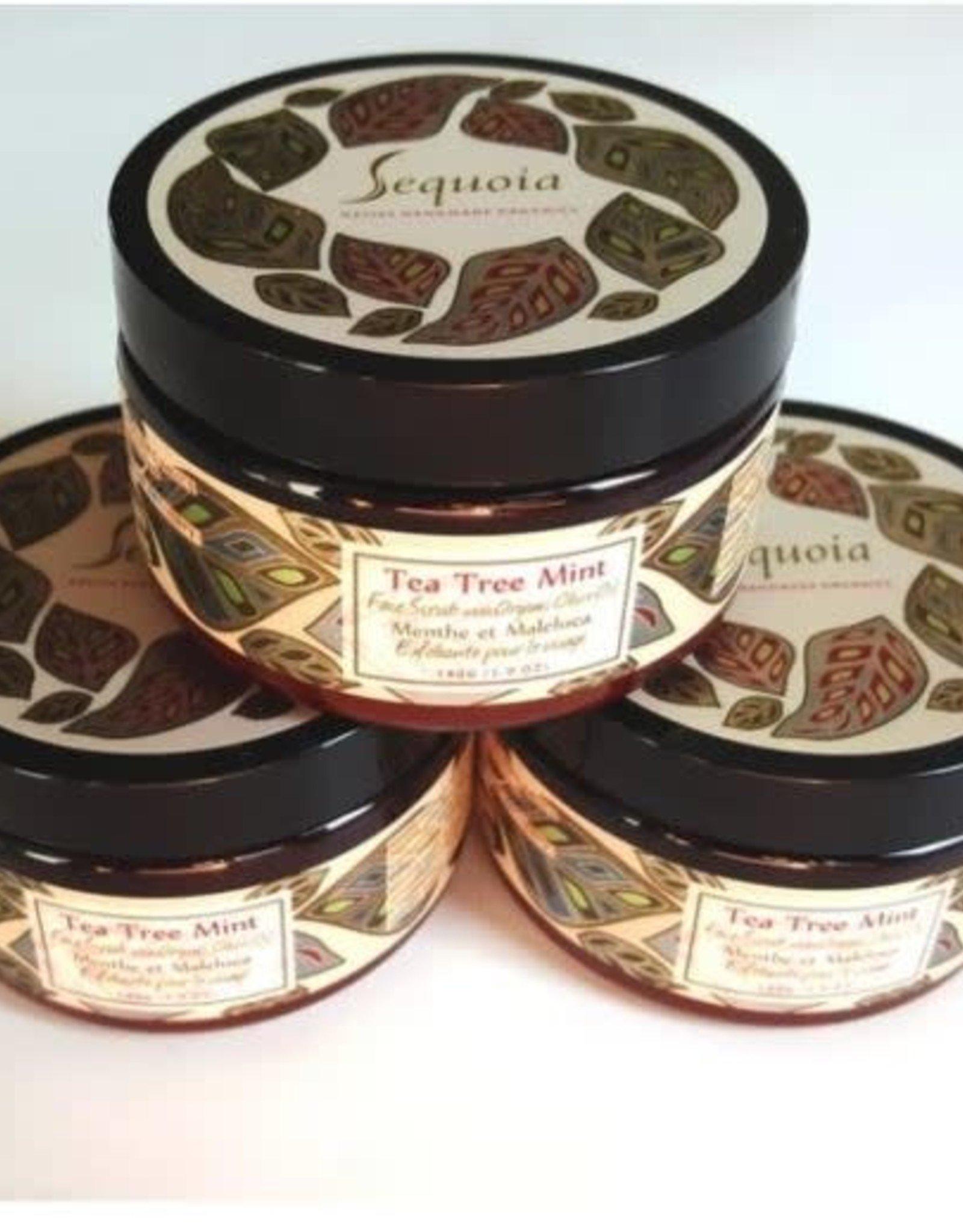 Sequoia Tea Tree Mint Face Scrub -5oz
