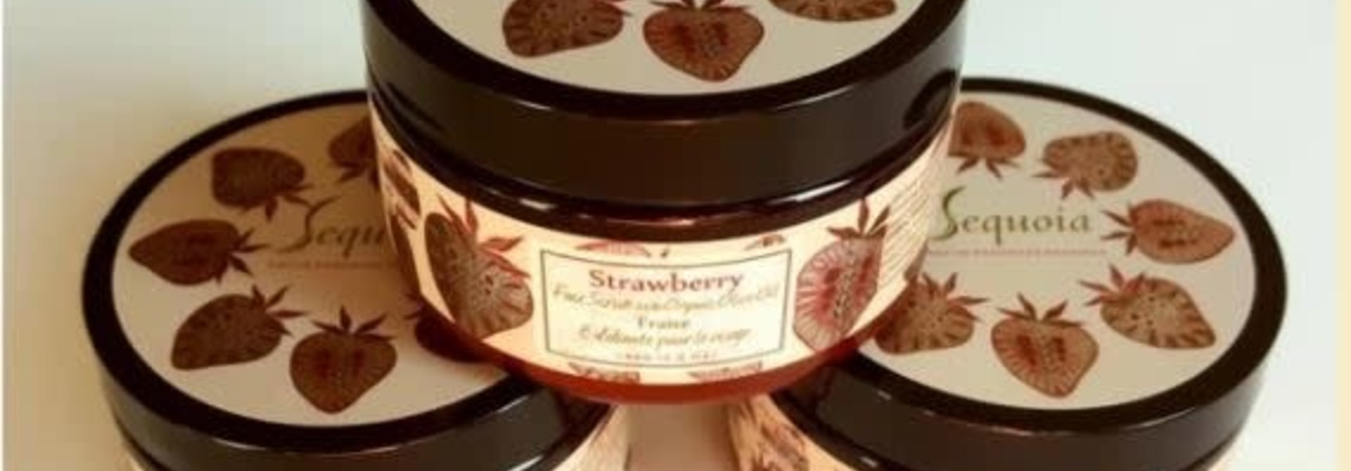 Sequoia Strawberry Facial Scrub 5oz