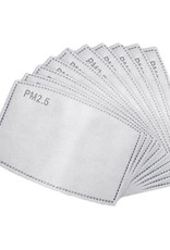Kids PM2.5 Disposable Filters (pkg. 10) for reusable face masks