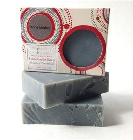 Sequoia Handmade Soap 4oz -  Stone Mother