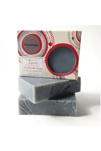 Sequoia Handmade Soap 4oz -  Stone Mother