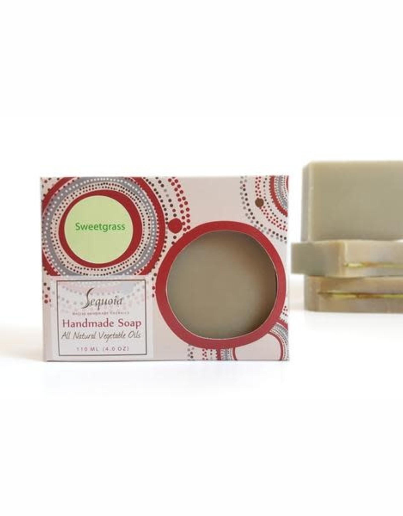 Sequoia Handmade soap 4oz - Sweetgrass