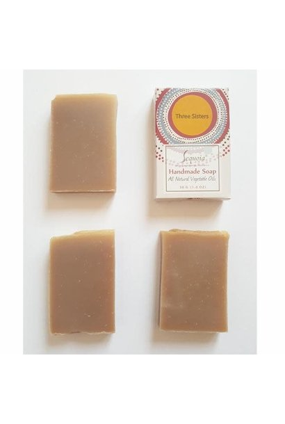 Sequoia Handmade Soap 4oz - Three Sisters