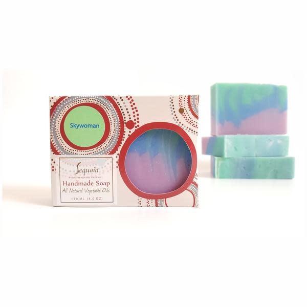 Sequoia Handmade Soap 4oz - Skywoman-1