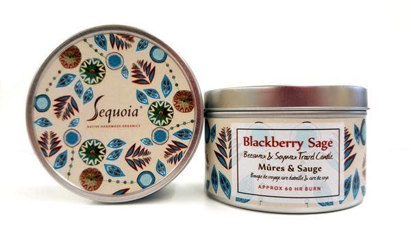 Sequoia 30 hr Candle - Blackberry Sage-1