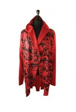 All Over Jacket Whale Kelly Robinson L/XL - Red