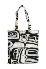 Kelly Robinson Raven Cotton Shopping Bag (black)