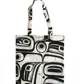 Kelly Robinson Raven Cotton Shopping Bag (black)