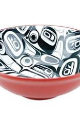 KR Raven Extra Large Bowl Red/Black