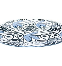 Large Oval Plate 12'