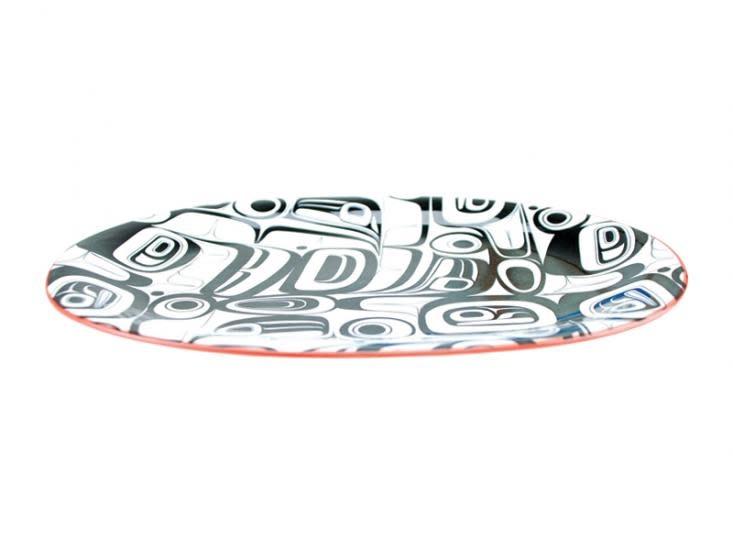 Large Oval Platter - Hummingbird 12'-2