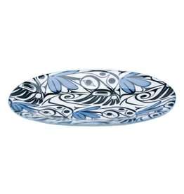 BH Hummingbird Small Oval Platter