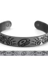 Brushed Silver Bracelet- Bears by Paul Windsor