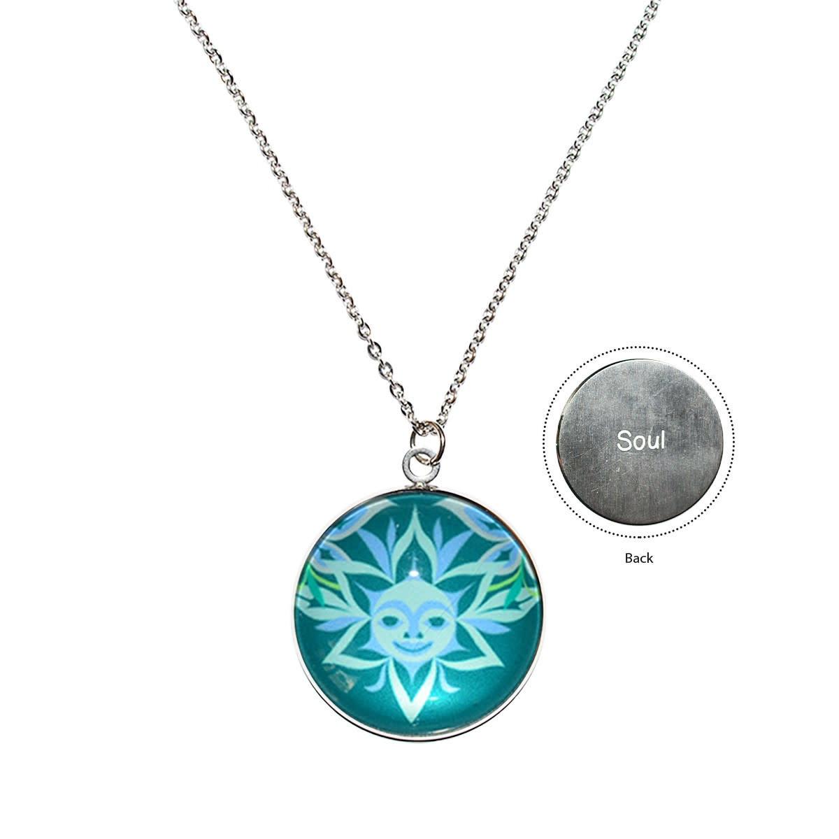 Soul Blossom Charm Necklace by Simone Diamond-1