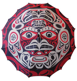 Pacific Umbrella- Thunderbird Moon by Joe Wilson-Sxwaset