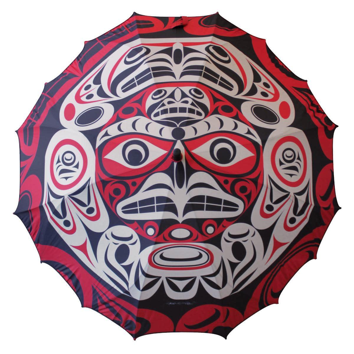 Pacific Umbrella- Thunderbird Moon by Joe Wilson-Sxwaset-1