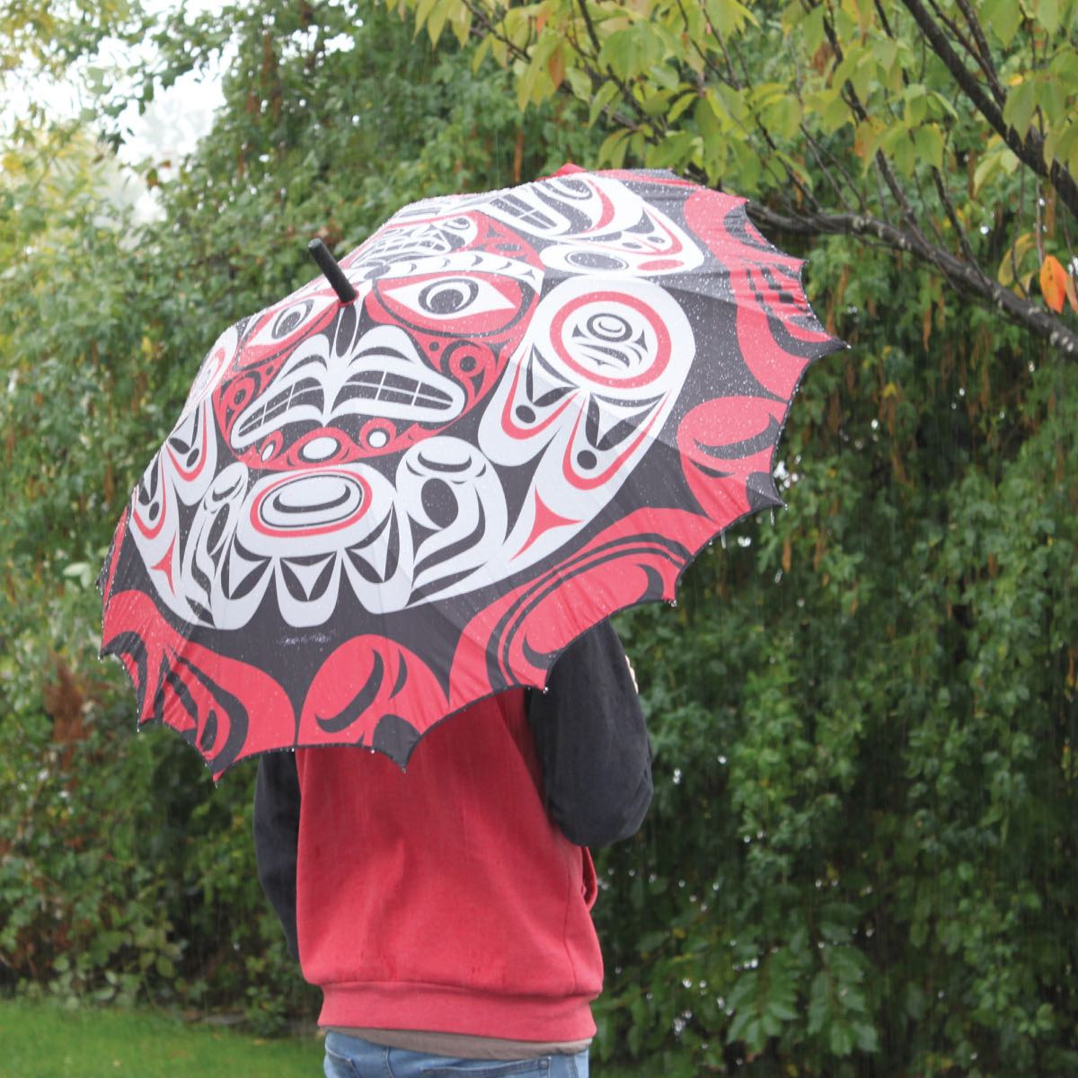 Pacific Umbrella- Thunderbird Moon by Joe Wilson-Sxwaset-2