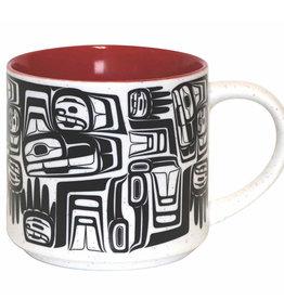 16oz Ceramic Mug Eagle Crest - Ben Houstie