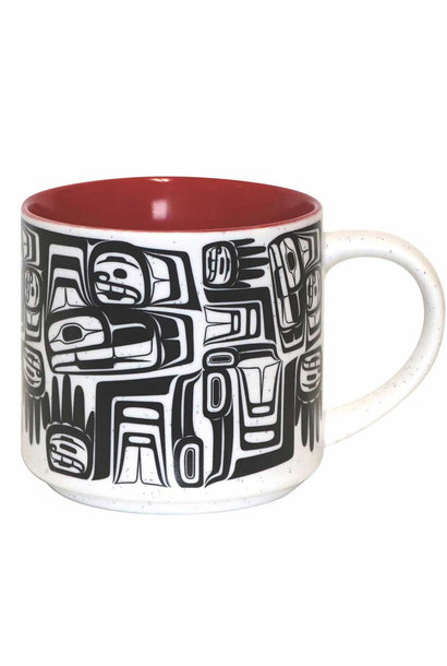 16oz Ceramic Mug Eagle Crest - Ben Houstie