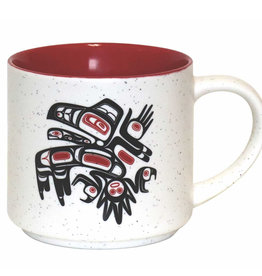 16oz Ceramic Mug Running Raven-Morgan Asoyuf