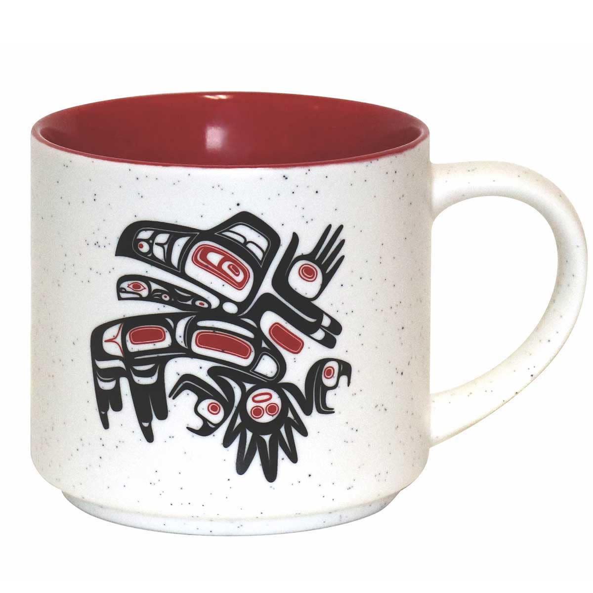 16oz Ceramic Mug Running Raven-Morgan Asoyuf-1