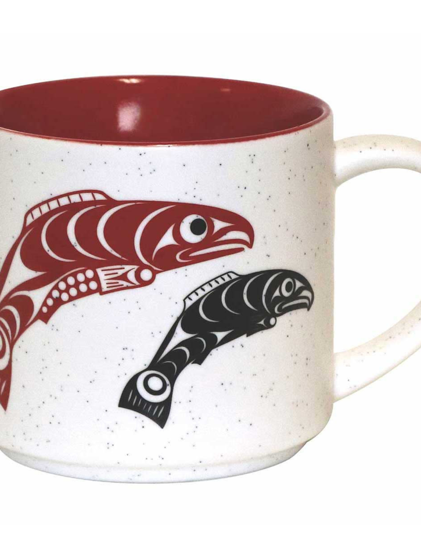 16oz Ceramic mug Salmon