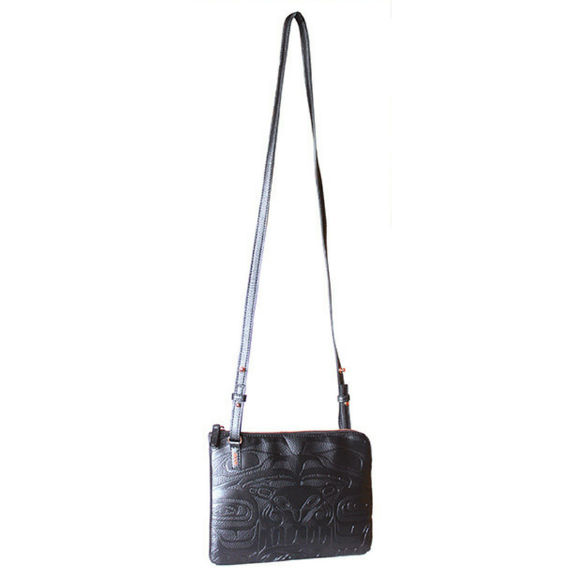 Embossed Fashion Bag - Thunderbird and Whale by Ernest Swanson-1