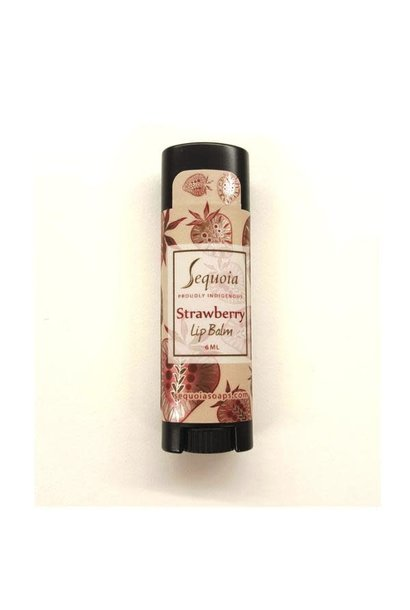 Sequoia Lip Balm - Strawberry