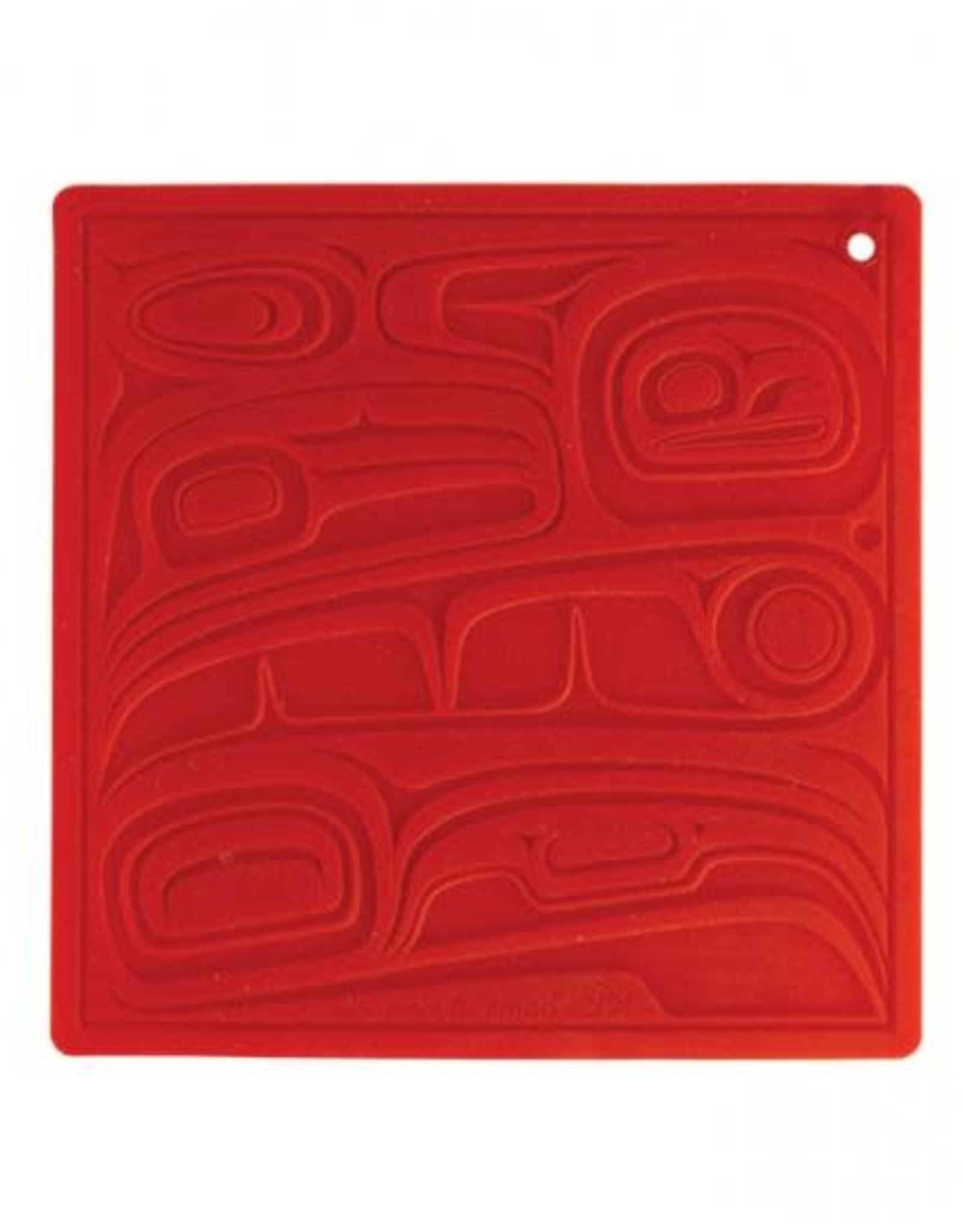 Silicone Trivet- Raven design by Kelly Robinson
