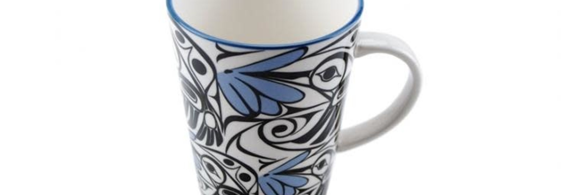 Porcelain Mug -Hummingbird by Bill Helin