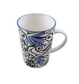 Porcelain Mug -Hummingbird by Bill Helin