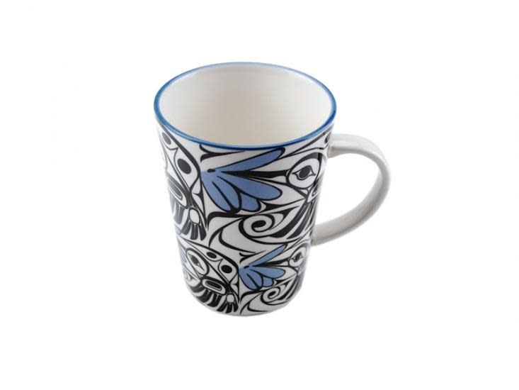 Porcelain Mug -Hummingbird by Bill Helin-1