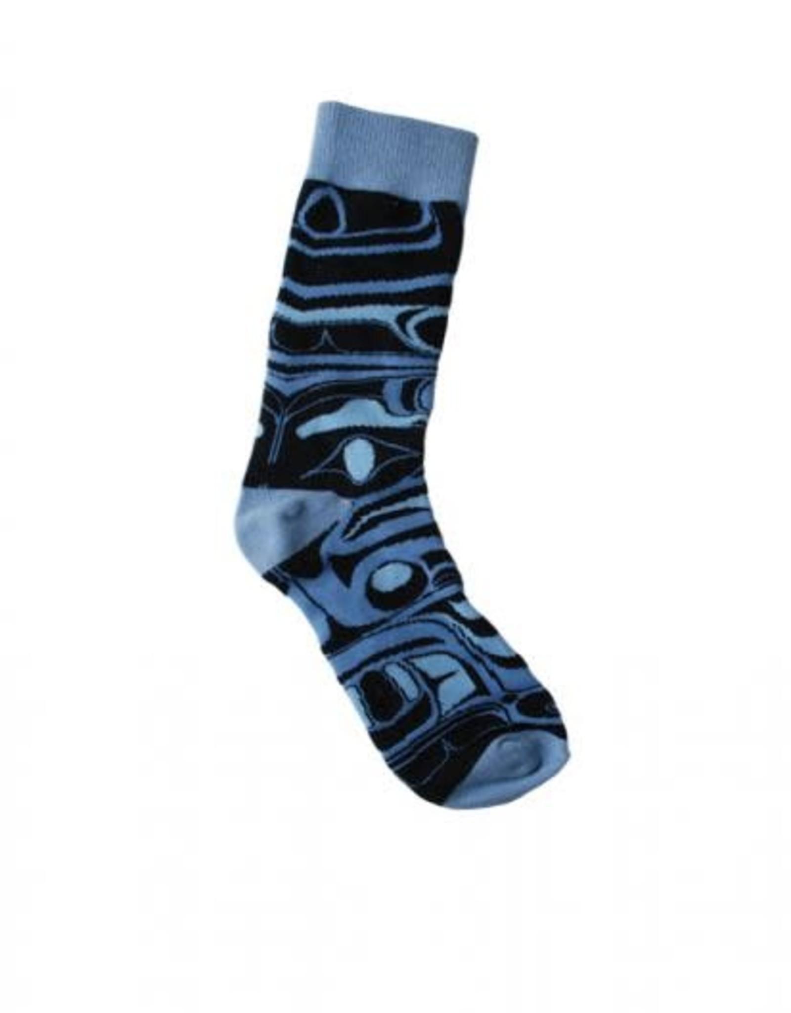 Frog Box Socks- design by Bill Helin
