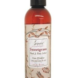 Sequoia 8 oz Hand &  Body Lotion - Sweetgrass