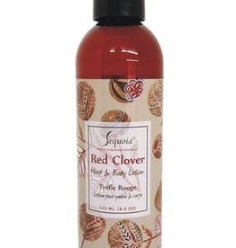 Sequoia 8 oz Hand & Body Lotion - Red Clover